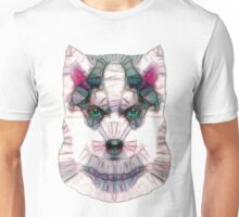 abstract husky Unisex T-Shirt