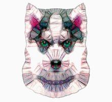 abstract husky Unisex T-Shirt