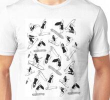 Surfing girls Unisex T-Shirt