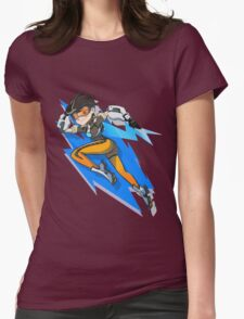 Sexy Shooter Girl Womens Fitted T-Shirt