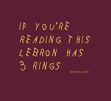 Lebron James Rings Finals 2016 NBA Unisex T-Shirt