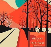 TWIN PEAKS by JazzberryBlue