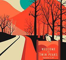 TWIN PEAKS by JazzberryBlue