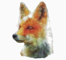 abstract fox One Piece - Long Sleeve