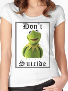 Don't Kermit Women's Fitted Scoop T-Shirt