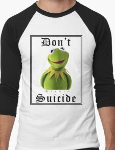 Don't Kermit Men's Baseball ¾ T-Shirt