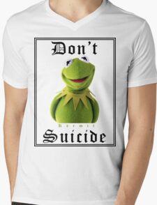 Don't Kermit Mens V-Neck T-Shirt