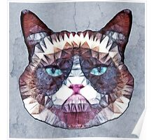 abstract cat Poster
