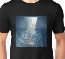 A Secret Little Blue Door Unisex T-Shirt