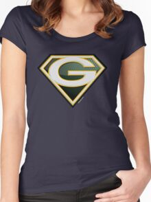 Super Packers of Green Bay Women's Fitted Scoop T-Shirt