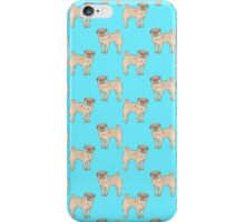 Pug dogs iPhone Case/Skin