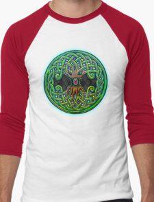 Yggdrasil Celtic Viking World Tree of Life color Men's Baseball ¾ T-Shirt