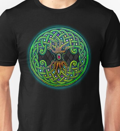 Yggdrasil Celtic Viking World Tree of Life color Unisex T-Shirt