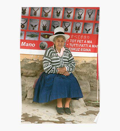 Cusco Vendor Poster