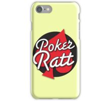 Poker Ratt with spade suit iPhone Case/Skin