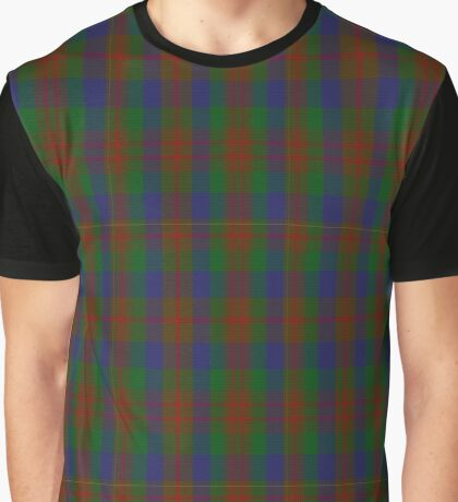 02446 Dorward/Dogwood Clan/Family Tartan Graphic T-Shirt