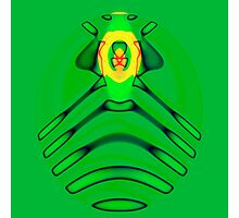 Cult of the Radioactive Frog Photographic Print