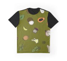 Masala in Moss Graphic T-Shirt