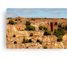 Copper Mine, Australian Heritage Canvas Print