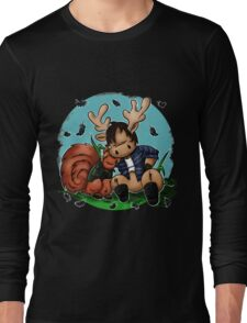 Moose and Squirrel Long Sleeve T-Shirt