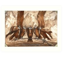 The Condor Formation Flying Team Art Print