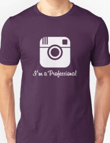 Professional Photographer Dark Unisex T-Shirt