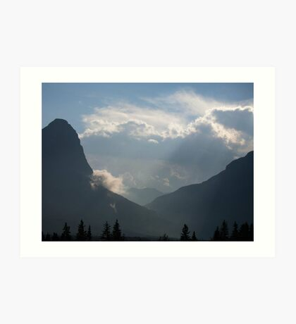 Canmore Country Art Print