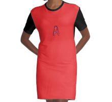 A - bra Graphic T-Shirt Dress
