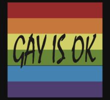 Gay Is OK  Kids Clothes