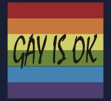 Gay Is OK  One Piece - Long Sleeve