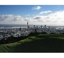 Auckland With Mt. Eden Photographic Print