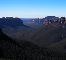 Blue Mountains by davidandmandy