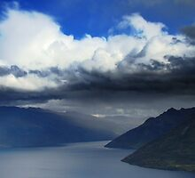 Storm On Wakatipu by davidandmandy