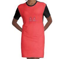 AA-Bra Graphic T-Shirt Dress