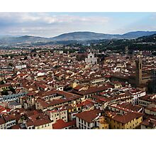 Rooftops Of Florence Photographic Print
