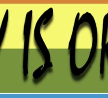 Gay Is Okay  Sticker