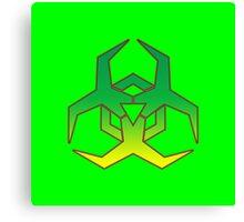 Hazard Symbol Canvas Print