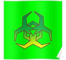 Hazard Symbol Poster