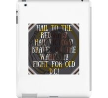 Hail to the redskins iPad Case/Skin