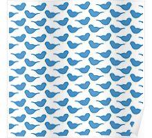 Snow White - #2 Blue Birds Poster