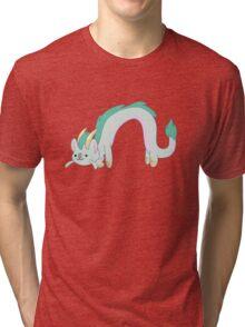 Haku-atsume Tri-blend T-Shirt