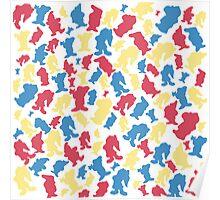 Snow White - #7 Dwarfs Poster