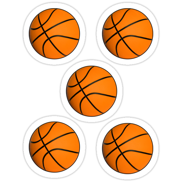 Basketball stickers by ilmagatPSCS2