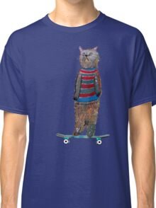 the cat skate  Classic T-Shirt