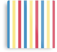 Snow White - #11 Stripes Metal Print