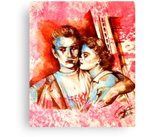 A Punk Without A Clause Canvas Print