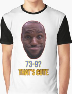 Lebron James Funny  Graphic T-Shirt