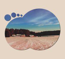 Amazing vivid winter wonderland | landscape photography T-Shirt