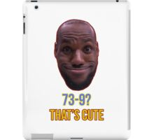 Lebron James Funny  iPad Case/Skin