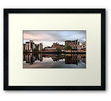20:30 at the Shore, Edinburgh Framed Print